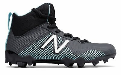 a408bf9ce New Balance Unisex Kid s Junior Freezelx Lacrosse Cleat Big Kids Black Blue