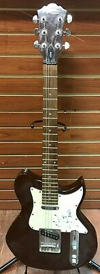 Mike Kennerty All American Rejects Signed Lyon Washburn Electric Guitar Brown