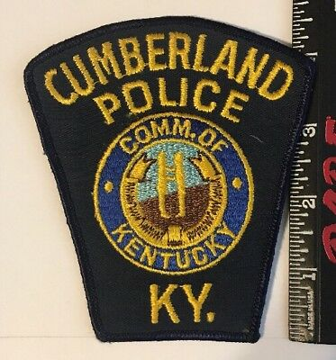 Cumberland KY Police Patch