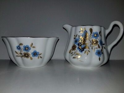 Royal Tara Fine Bone China Sugar & Creamer Handmade in Ireland