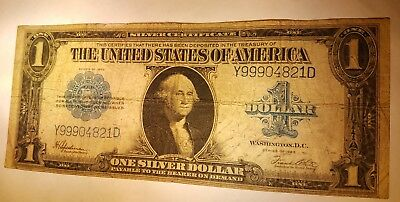 1923 $1 Silver Certificate Large Size Nice VG Very Good