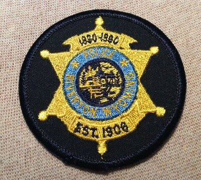 WY Riverton Wyoming Police Patch