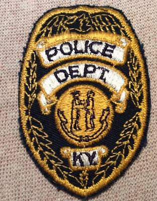 KY Kentucky Police Patch (3In)