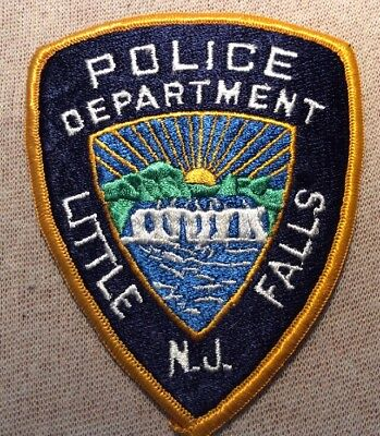 NJ Little Falls New Jersey Police Patch