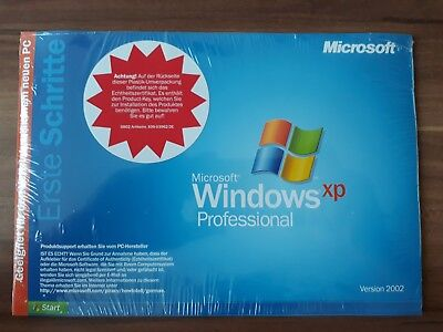 Microsoft Windows XP Professional Pro mit SP2 Vollversion OEM deutsch E85-05055