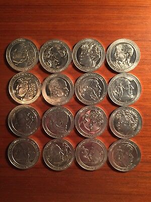 VINTAGE Lot of 1972 Coca Cola Commemorative Olympic Aluminum Coins Fleming Owens