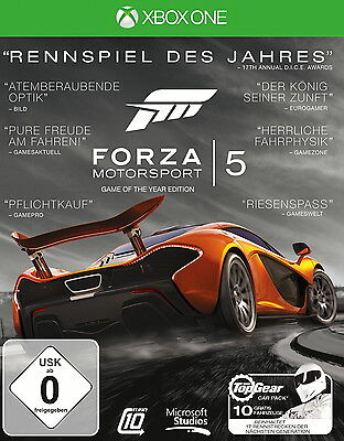 Forza Motorsport 5 - Game of the Year, XBox One-Blu-ray Disc
