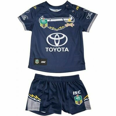 NQ Cowboys NRL 2018 Home ISC Jersey Toddler/Infants Home Set Sizes 0-4!