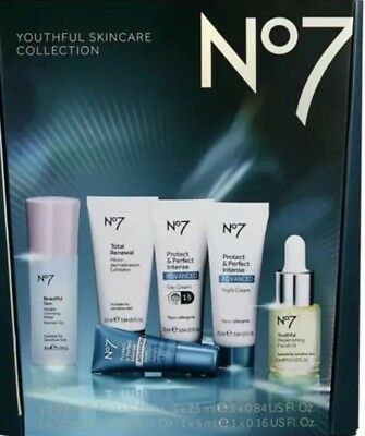 Boots No7 Youthful Skincare Set Protect And Perfect Intense Day Night Cream #2