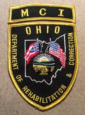 OH Ohio Department of Rehabilitation/Correction MCI Marion Institution Patch
