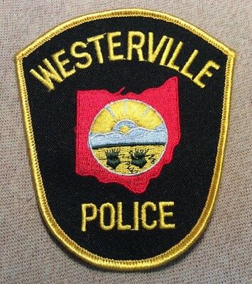 OH Westerville Ohio Police Patch