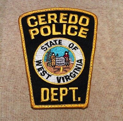 WV Ceredo West Virginia Police Patch