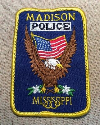 MS Madison Mississippi Police Patch