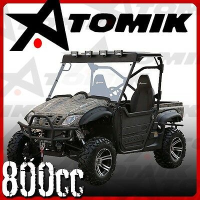 NEW ATOMIK 800cc ATX 4X4 UTV SIDE BY SIDE ATV QUAD DIRT MOTOR TRAIL FARM BIKE