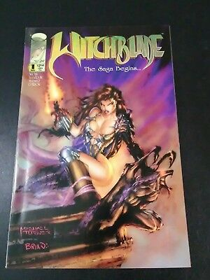Witchblade 1 VF/NM 1995 Image 1st print Sara Pezzini Top Cow Michael Turner
