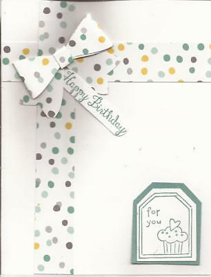 Stampin Up Card Birthday Card For Man 350 Picclick