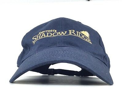 Marriott's Shadow Ridge (Palm Desert California) Baseball Cap Hat Adj Men's Size