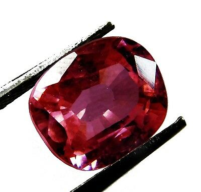 Natural 11.80 Ct. Untreated Cushion Cut Kunzite Loose Gemstone. 7207 J
