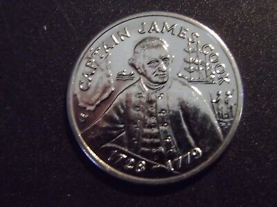 Captain James Cook Australia 200 Years Bicentennial Medal