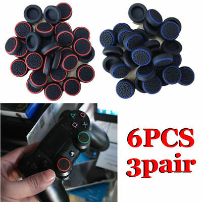 6X Controller Accessories Thumb Stick Grip Joystick Caps for PS4 PRO Controller