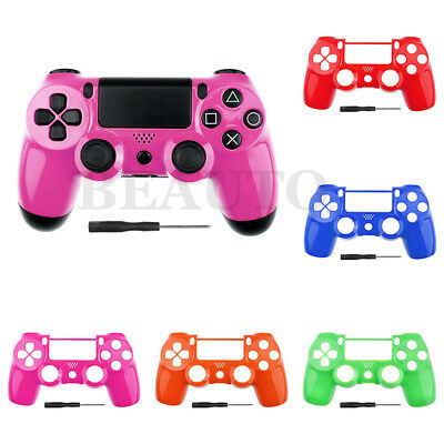Front Housing Shell for Sony PS4 Dualshock 4 Controller Faceplate Mod Parts Kit