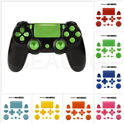 Replacement Full Buttons Custom Mod Kit Set For Sony PS4 Playstation4 Controller