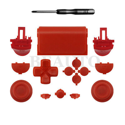 Solid Kits Trigger Thumbstick Buttons for Sony Dualshock 4 PS4 Pro Controller