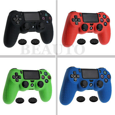 For Dualshock 4 PS4 Controller Silicone Case Cover Joystick Thumbstick Grip Caps