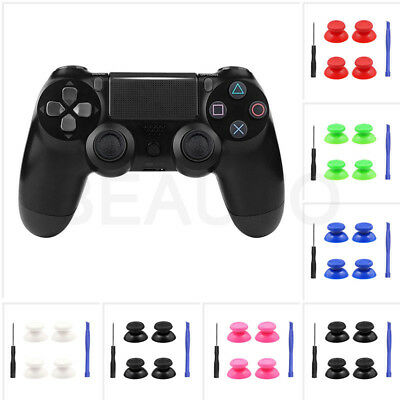 4x Controller Analog Thumbsticks Thumb Stick for PS4 Playstation 4