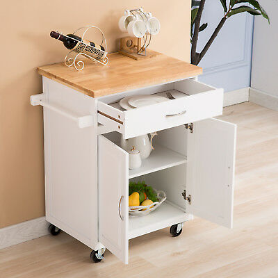 Peachy White Kitchen Island Cart Trolley Wood Rolling Storage Short Links Chair Design For Home Short Linksinfo