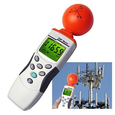 Handheld 3-Axis EMF RF Field Strength Meter With 50MHz to 3.50GHz Range