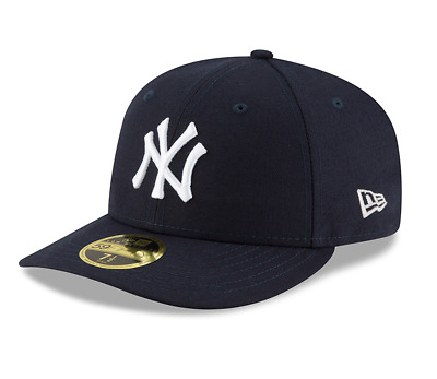 New Era 59Fifty Fitted Cap. Authentic Team Low Profile - New York Yankees