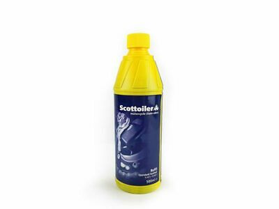 Scottoiler Scott Oil Motorcycle Chain Lube With Spout Blue 500ml