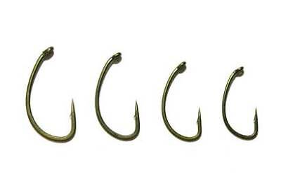 Avid Reaction Curve Hook CRV Eyed Barbed ALL SIZES