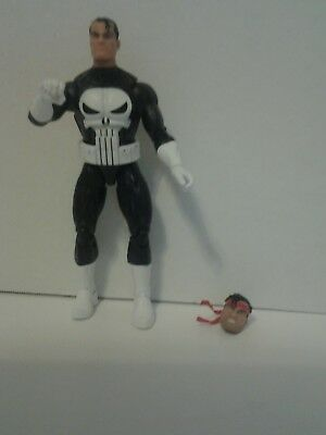 1990 Marvel Legends by Hasbro The Punisher  Action Figure   6.5 inches