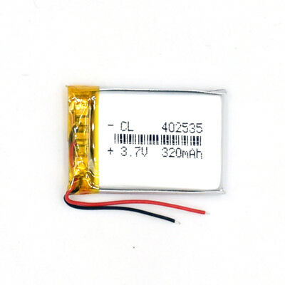 3.7 V 320mAh 402535 Li-Polymer Rechargeable Battery Liion LiPo Cell for GPS MP3