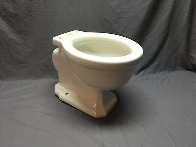 Antique White Porcelain Vitreous China Toilet Bowl Vtg Standard Siacto 352-18E