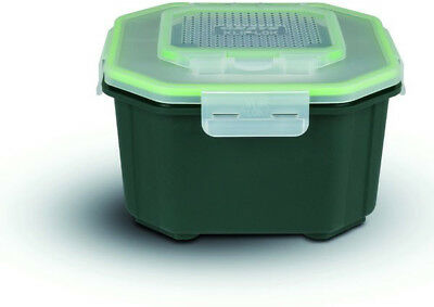 Greys Klip Lok Bait Box Flip Lid Buckets, Bowls and Tubs 3 4pt Perforated