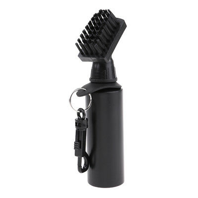 Golf Club Brush Golf Cleaning Brush Groove Self-Contained Water with Clip