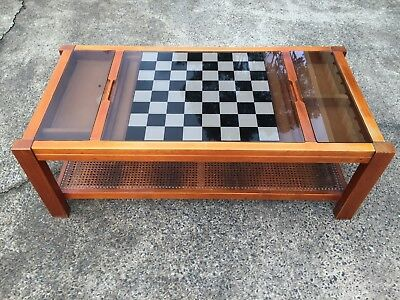 Games Table Only Retro Coffee Table For Playing Drafts Checkers Etc