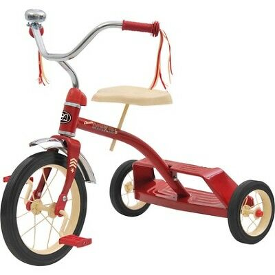 Kids Retro Tricycle, Red - 76570