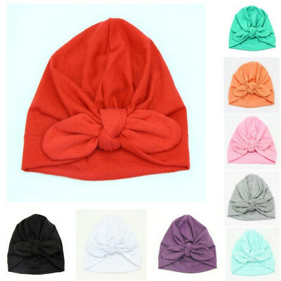 Head Wraps Super Cute Stylish Cotton Full Turban Winter Warm Cozy For Baby Girls
