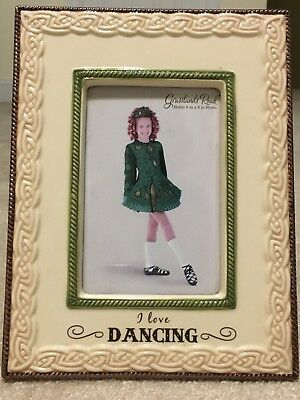 Grasslands Road Irish Celtic Traditions I Love Dancing Frame New 4x6 photo
