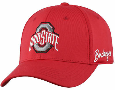 a4723e55963f8 Ohio State Buckeyes Hat Top Of The World Phenom Memory Fit One Fit Cap M