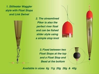 E-Sox Piker Float Inline ALL SIZES