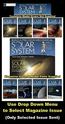 Eaglemoss The Solar System: Build a Precision Mechanical Solar System Mag + Part