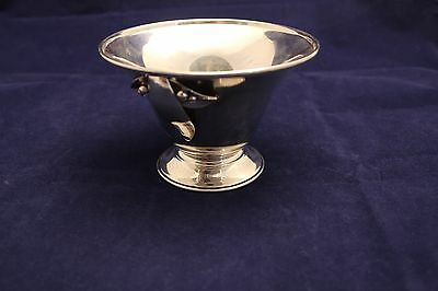 VTG Carl Poul Petersen Montreal Canadian Hand Made Sterling Silver Dish Bowl