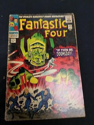 fantastic four 49 SECOND SILVER SURFER 1ST FULL GALACTUS