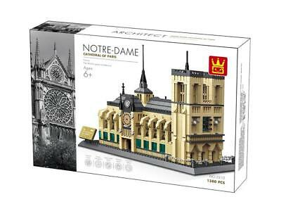 Notre-Dame Cathedral  Paris France Building Blocks Bricks - Wange