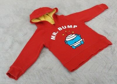 "Baby Boys MR. BUMP Red Hooded AKA ""Hoodie"" (12-18 Months) - By Marks & Spencer"
